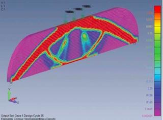 Femap12 топологическая оптимизация