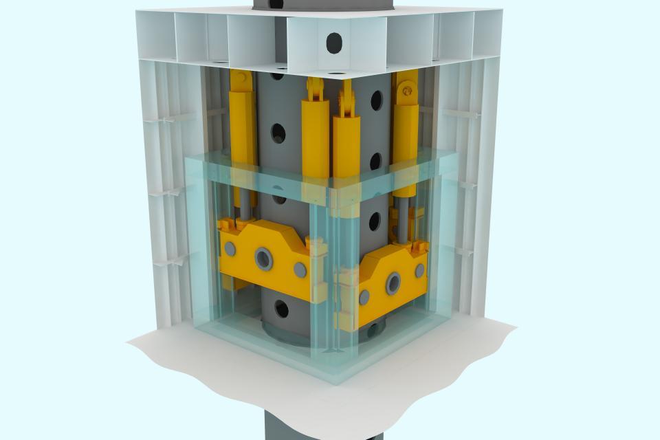 Кадис cadis femap gusto GustoMSC проектирование Siemens plm SBM Offshore N.V.  NOV company буровое оборудование NX Nastran кораблестроение верфь marine гидравлический подъем