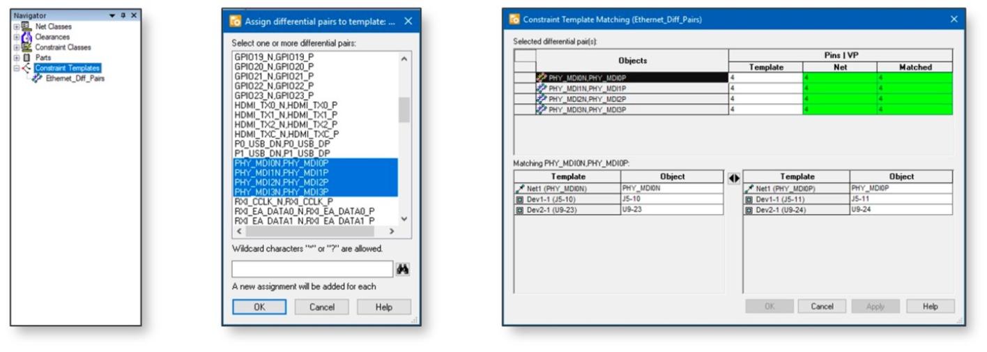 PADS Professional Layout VX2.4: шаблоны управления ограничениями (Constraint Manager Templates)