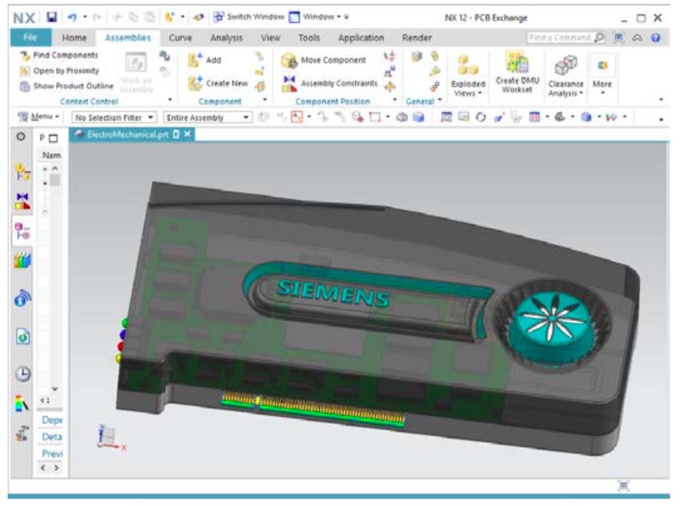 интеграция NX Siemens и PADS Professional