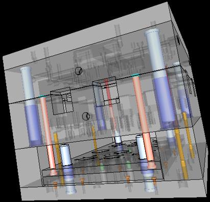 cadis solid edge mold toolind проектирование пресс формы поверхность разъема