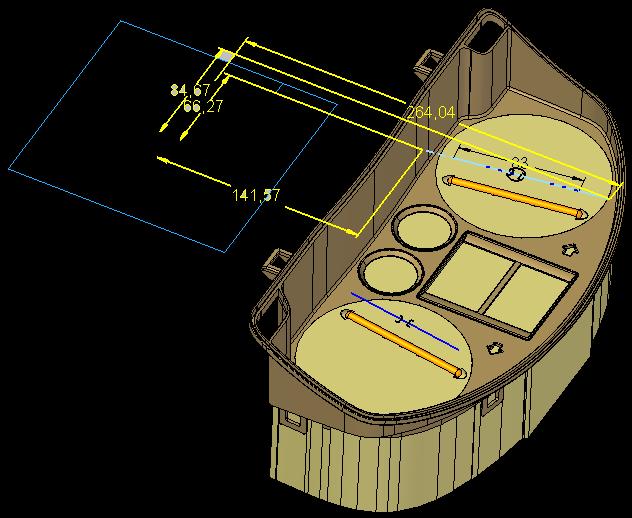 cadis solid edge mold toolind проектирование пресс формы поверхность разъема литниковая система