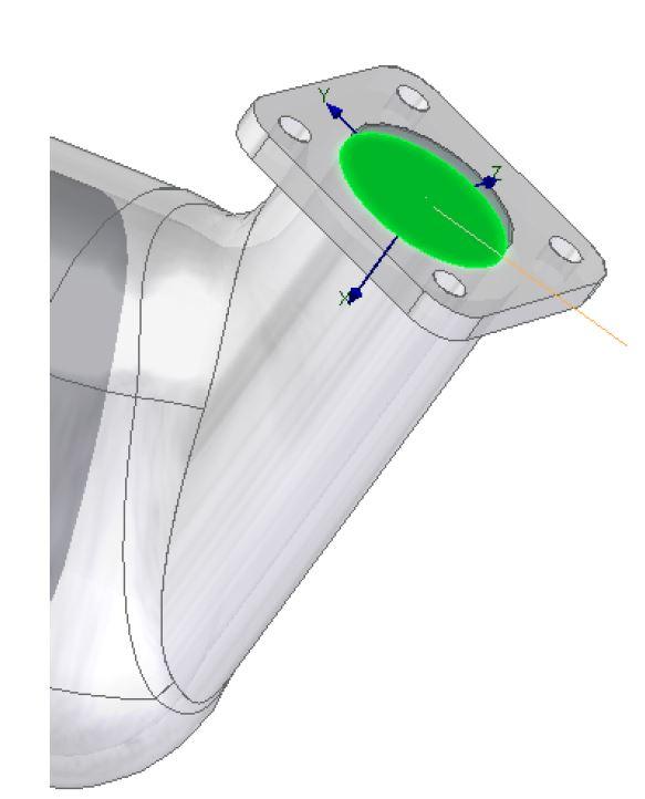 FloEFD Выбор поверхности