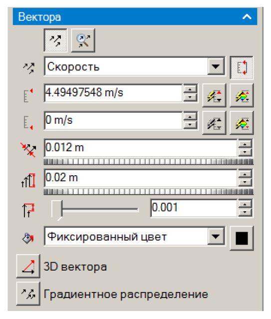 FloEFD Настройка визуализации