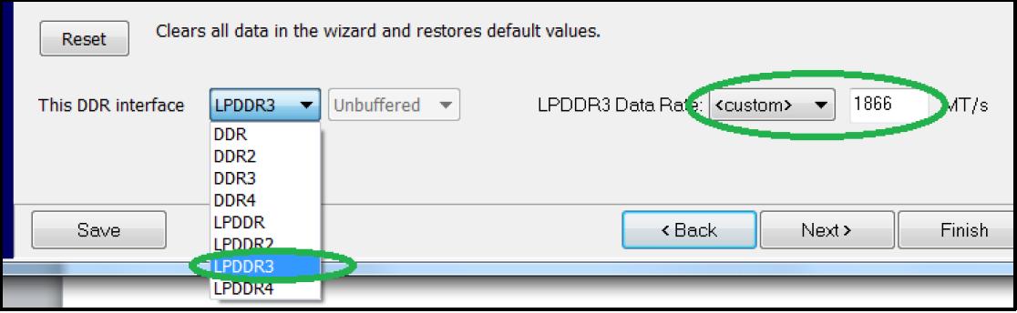 Выбор стандарта логики xDDR