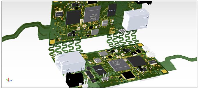PADS Professional Rigid-Flex: проектирование гибко-жестких печатных плат.