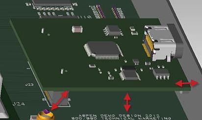 PADS Standard: 3D визуализация печатной платы