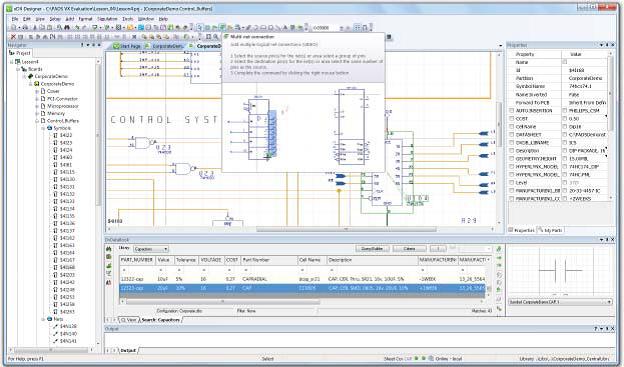 PADS Standard Plus - интуитивная навигация по схемотехническому проекту