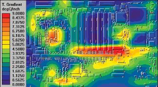 Тепловой анализ HyperLynx Thermal в PADS Standard Plus