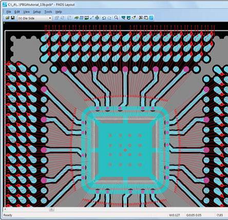 проектирование  бескорпусных элементов в PADS Standard PLUS