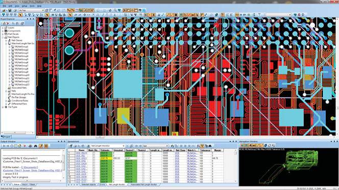 проектирование топологии печатной платы с высокоскоростными сигналами при помощи PADS Layout, PADS Router