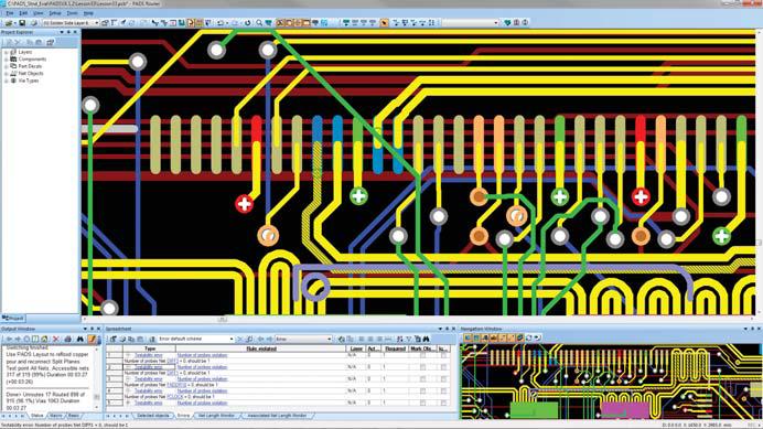 PADS Router: трассировка топологии печатной платы
