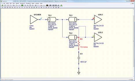 PADS Professional HyperLynx анализ целостности сигналов