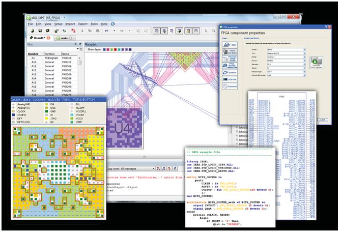 PADS Professional объединяет проектирование ПЛИС на основе VHDL и Verilog