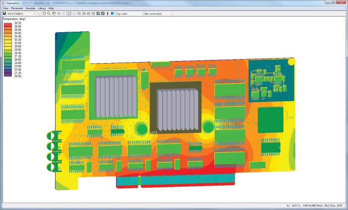 Тепловой анализ HyperLynx Thermal в PADS Professional