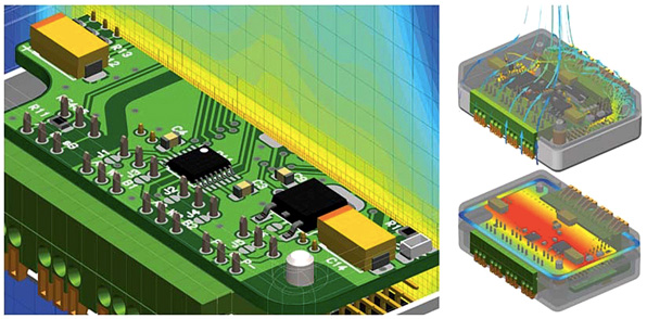 FloTherm XT для PADS позволяет провести быстрый и точный тепловой анализ печатных плат и сборок