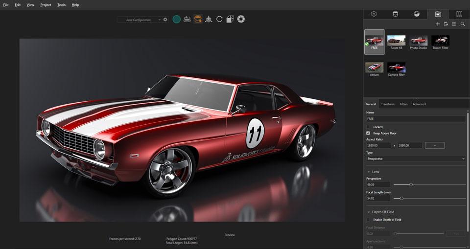 Фотореалистичные изображения в SOLIDWORKS Visualize