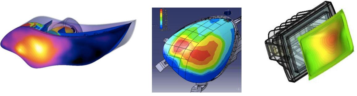 FloEFD Модель излучения Дискретные Ординаты