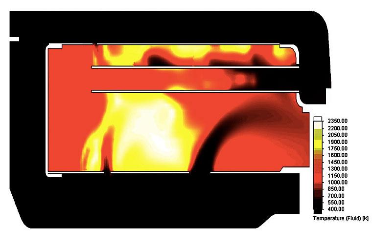 FloEFD Advanced Module: моделирование гиперзвука и горения