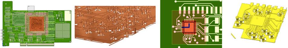 FloEDA Моделирование выбранных цепей и термоплощадок под микросхемы