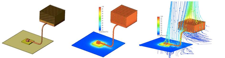 FloEFD Electronics Cooling Module компактные модели