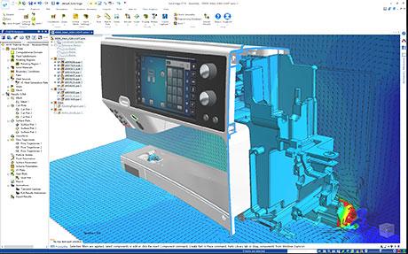 FloEFD for Solid Edge - гидрогазодинамический (CFD) анализ непосредственно в программное среде Solid Edge.