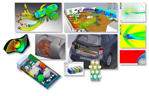 Широкие функциональные возможности FloEFD  используются в различных отраслях промышленности