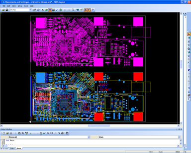 PADS Layout Повторное использование фрагментов схем и топологий