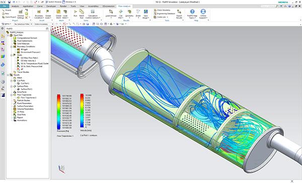 FloEFD for NX Siemens – гидрогазодинамический (CFD) анализ непосредственно в программное среде NX