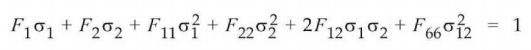 Теория Цая-Ву (TSAI-WU) femap nastran