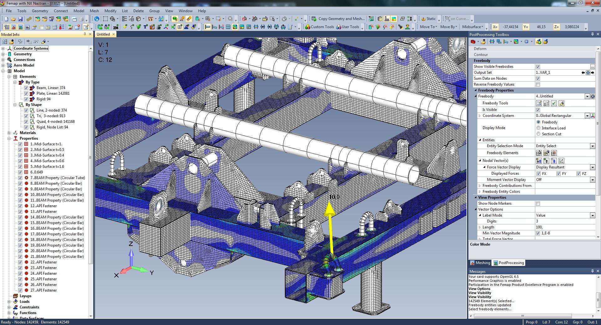 Siemens Femap with NXNastran верификация аттестация в ростехнадзоре
