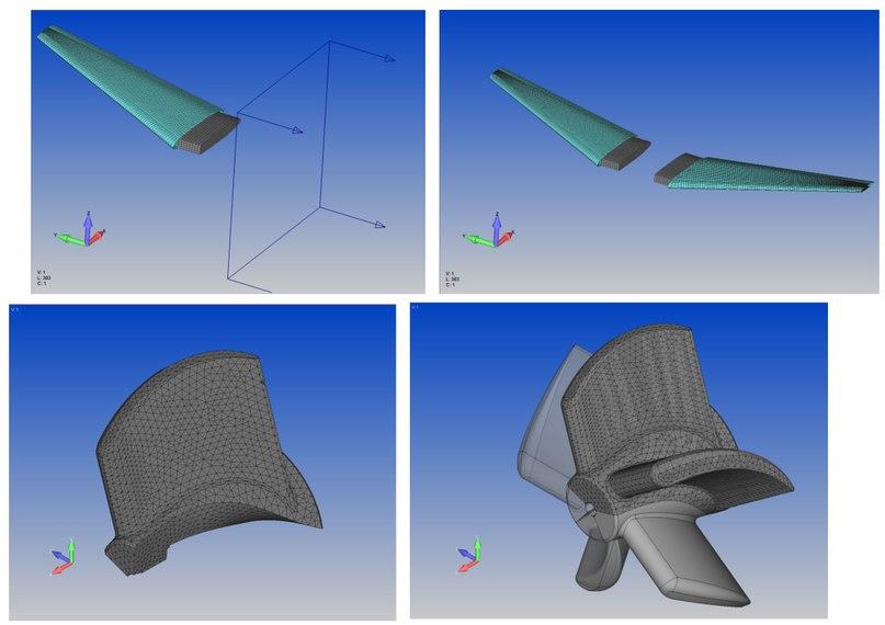 Копирование и перемещение любой геометрии вместе с ассоциативной сеткой в Femap v12