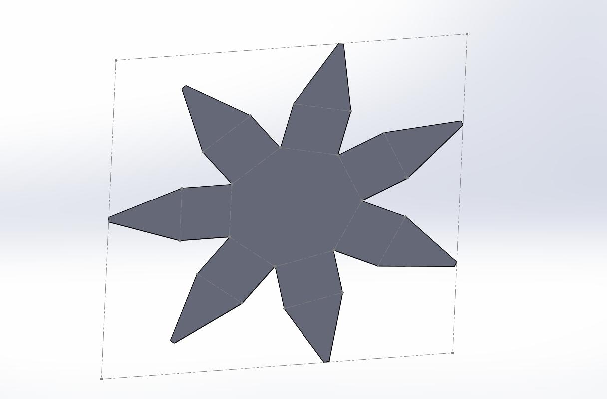 SOLIDWORKS. Конструирование детали из твердого тела и преобразование ее в деталь из листового металла.