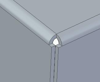 Solid Edge: Листовой металл. Разгрузки и углы