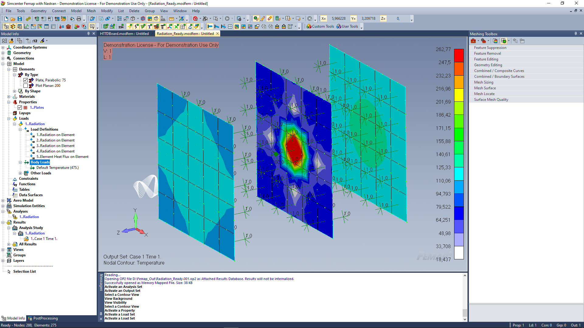 FEMAP Advanced Thermal Solver