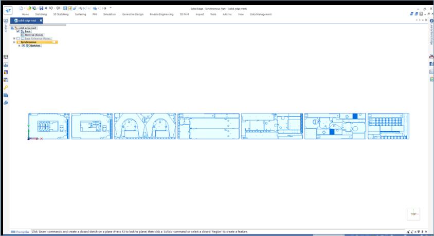 Solid Edge 2D Nesting: Оптимизация шаблонов резания