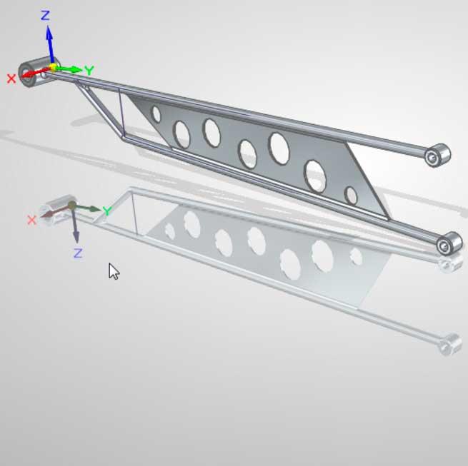 Пример сочетания синхронной технологии и обычного моделирования 1