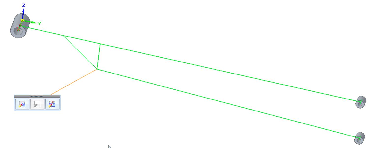 Пример сочетания синхронной технологии и обычного моделирования 3