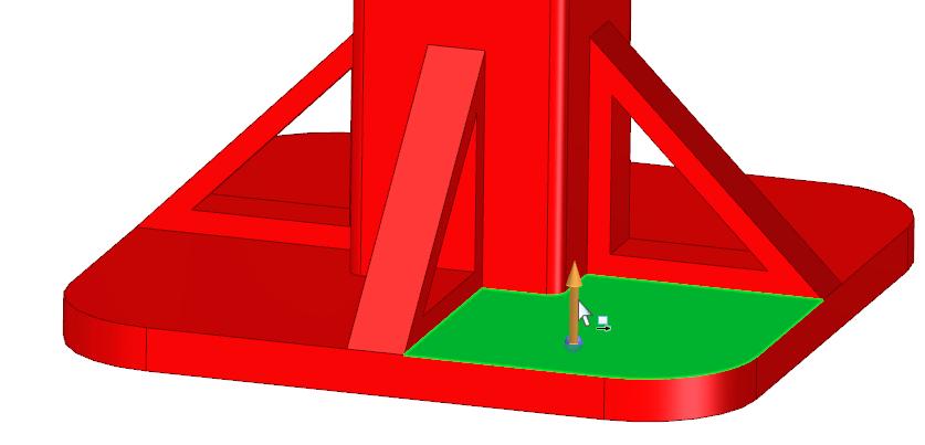 Моделировании деталей в версии ST9 4