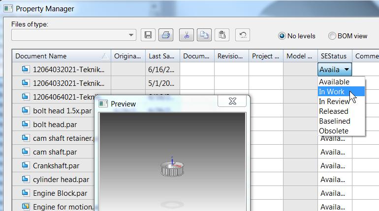 Встроенное управление данными в версии ST9 7