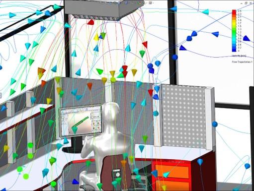 SOLIDWORKS Flow Simulation HVAC, SOLIDWORKS Flow Simulation