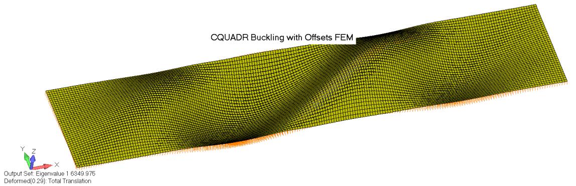 Особенности потери устойчивости композитных материалов в Femap with NX Nastran