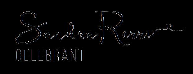 logo for sandra rerrie celebrant