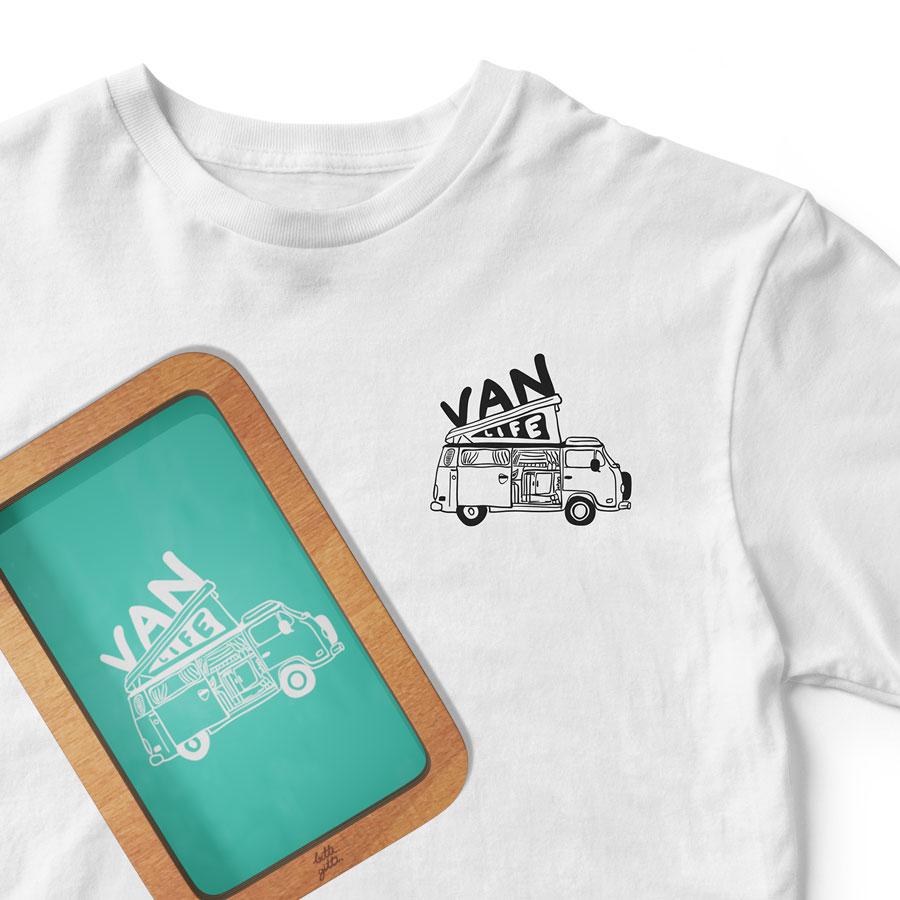 Van life screen print