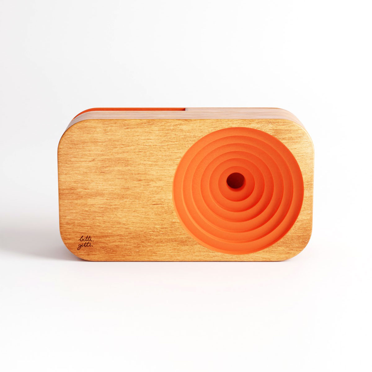 the wooden sound system social material