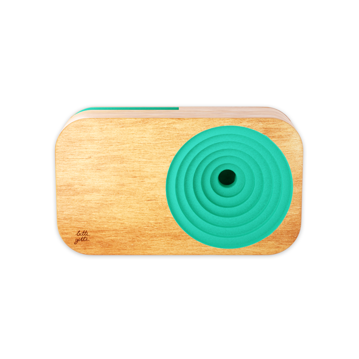 turquoise  the wooden sound system