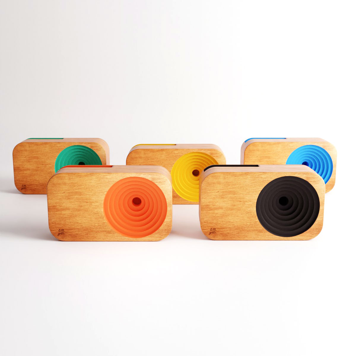the wooden sound system color bundle