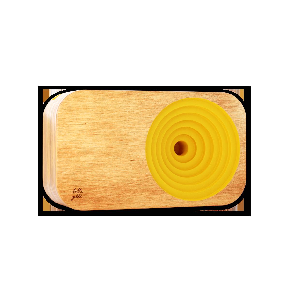 yellow sound system