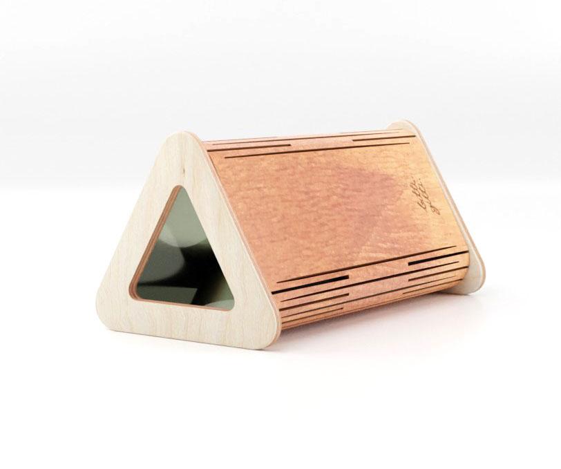 the wooden kaleidoscope