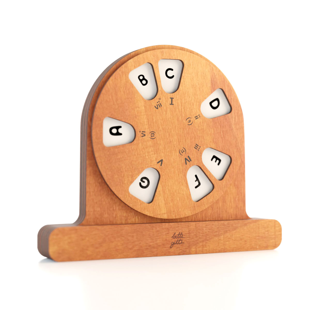 the Wooden Musical Wheel
